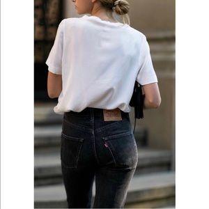 LEVI'S Vintage 550 Black High Rise Mom Jeans